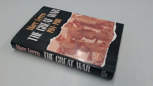 9780880294492: The Great War 1914-1918