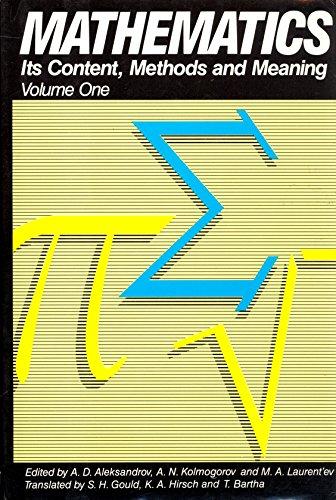 9780880294782: Mathematics Its Content Methods Volume One