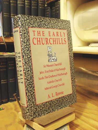 9780880295871: Early Churchills, an English Family (History)