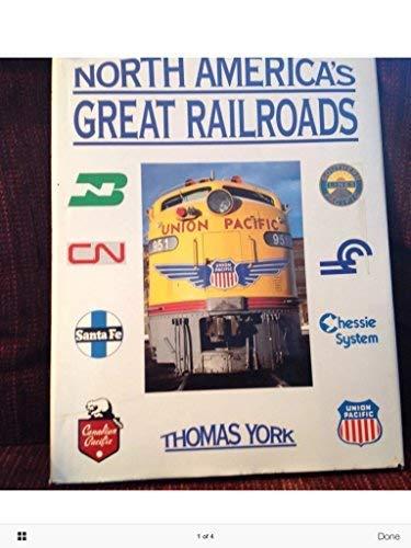 9780880296892: North Americas Great Railroads