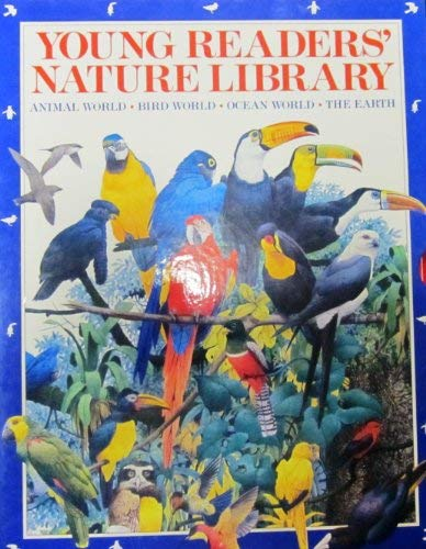 9780880296922: Young Reader Nature Library: Animal World; Bird World; Ocean World; The Earth