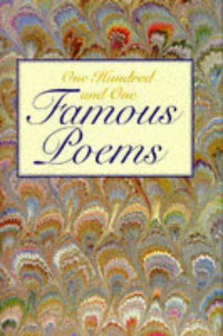 One Hundred and One Famous Poems: Elizabeth Barrett Browning,