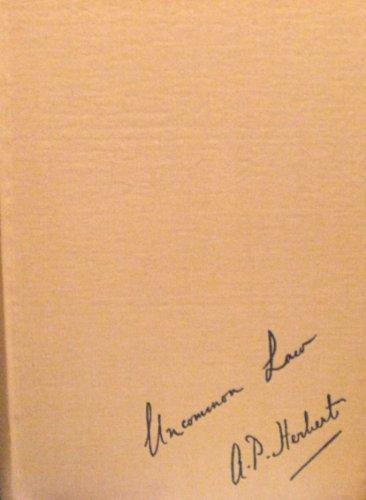 Uncommon Law: A. P. Herbert