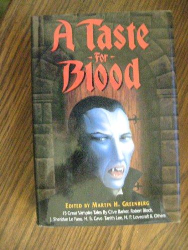 9780880297707: A Taste For Blood