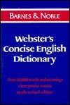 9780880297738: Webster's concise English dictionary