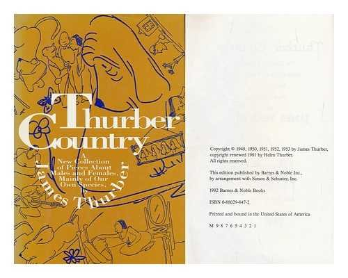 Thurber country: The classic collection about males: Thurber, James