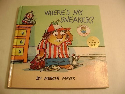 9780880298629: Where's My Sneaker? (A Lift the Flap Book)