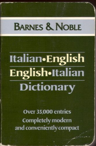 9780880299374: Italian English English Italian Dictionary (Language - Italian)
