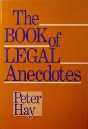 9780880299763: Book of Legal Anecdotes