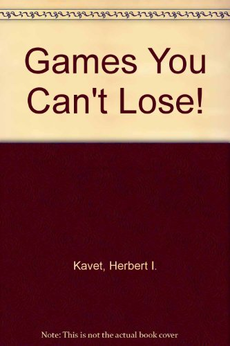 9780880320054: Games You Can't Lose!