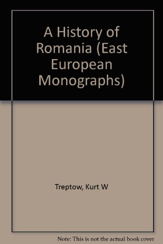 9780880333450: A History of Romania (East European Monographs)