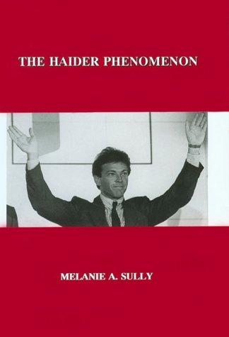 9780880333818: The Haider Phenomemon (East European Monographs)