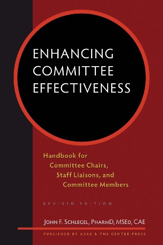 9780880343145: Enhancing Committee Effectiveness: Handbook for Committee Chairs, Staff Liaisons, and Committee Members