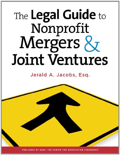 9780880343374: The Legal Guide to Nonprofit Mergers & Joint Ventures