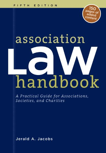 Amazon. Com: association law handbook: a practical guide for.