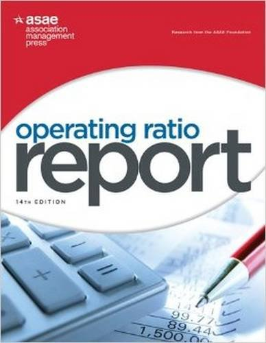 9780880343510: Operating Ratio Report, 14th Edition