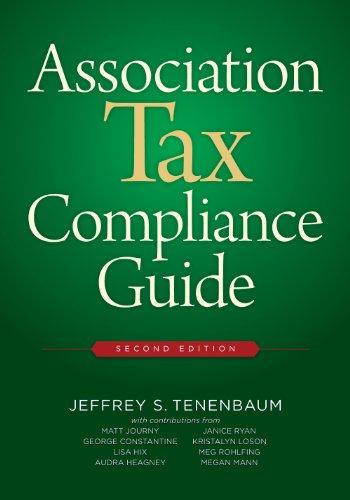 Association Tax Compliance Guide (Paperback): Jeffrey S. Tenebaum