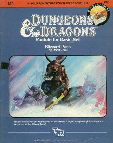 9780880380041: Blizzard Pass (Dungeons & Dragons Module M1)