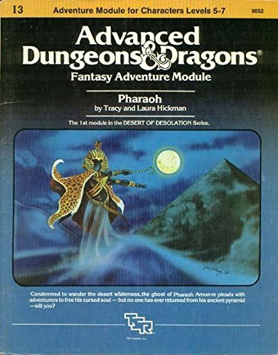 9780880380072: Pharaoh: Advanced Dungeons & Dragons Fantasy Adventure Module (Module I3 for Characters Levels 5-7)