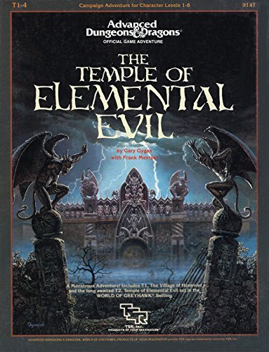 9780880380188: T1-4 Temple of Elemental Evil (Advanced Dungeons and Dragons/9147)