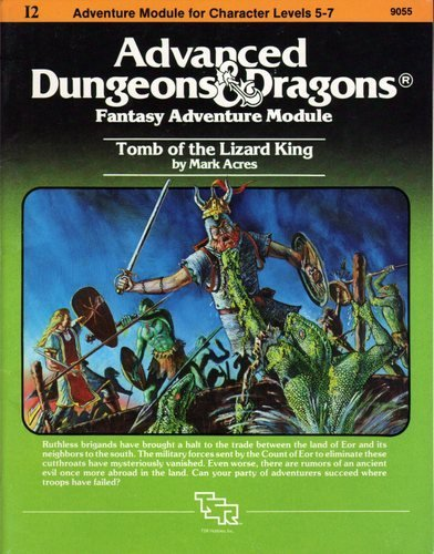 9780880380249: Tomb of the Lizard King (Advanced Dungeons & Dragons/AD&D Module I2)