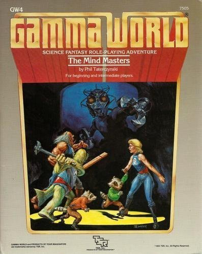 Mind Masters (Gamma World Module, No. GW4): Phil Taterczynski