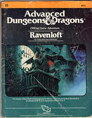 Ravenloft, I6 (Advanced Dungeons & Dragons Official Game Adventure #9075): Tracy Hickman; Laura...