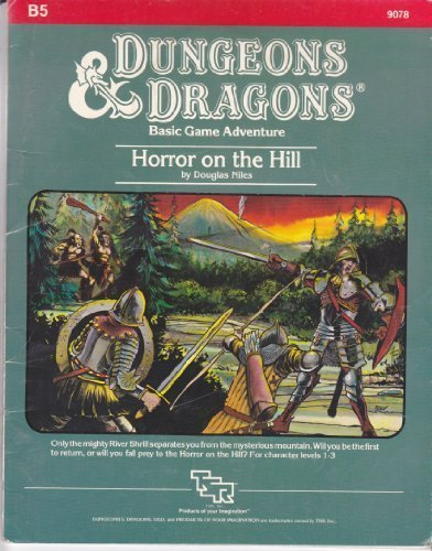 9780880380461: Horror on the Hill (Dungeons & Dragons Module B5)