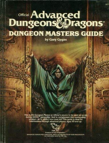 Advanced Dungeons and Dragons : Dungeon Masters Guide: Gygax, Gary