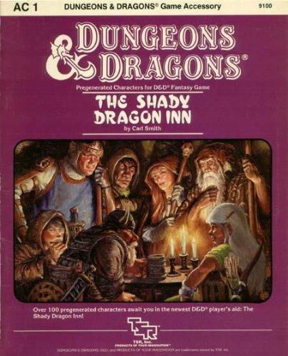 The Shady Dragon Inn (Dungeons & Dragons accessory AC1): Smith, Carl