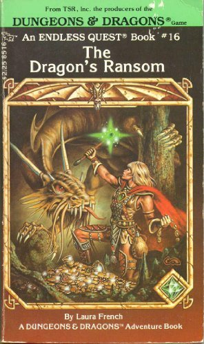 9780880380775: The Dragon's Ransom, (An Endless Quest Book, #16) (A Dungeons & Dragons adventure book)