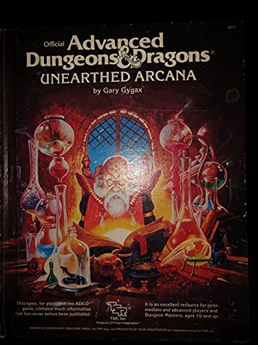 9780880380843: Official Advanced Dungeons and Dragons, Unearthed Arcana
