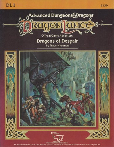 9780880380867: Dragons of Despair (Dragonlance module DL1)