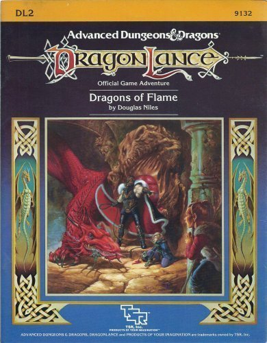 9780880380874: Dragons of Flame (Dragonlance Module, No. DL2)