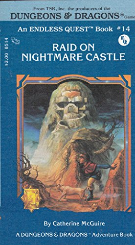 9780880381017: Raid on Nightmare Castle (An Endless Quest Book, Dungeons and Dragons Adventure Book )