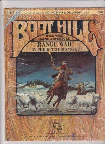 9780880381055: Range War! (Boot Hill Module BH5)