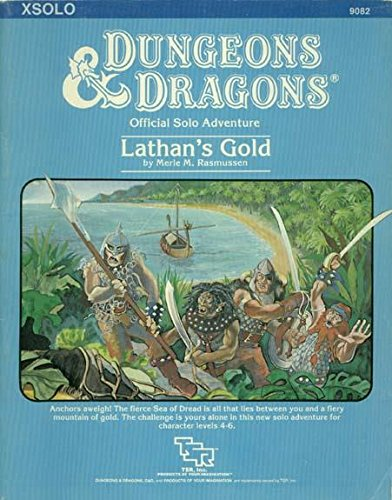 Lathan's Gold (Dungeons & Dragons Module XSOLO): Merle M. Rasmussen