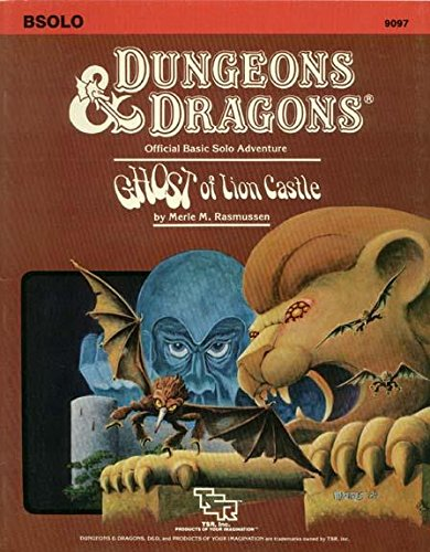 Ghost of Lion Castle (Dungeons & Dragons,: Merle M. Rasmussen