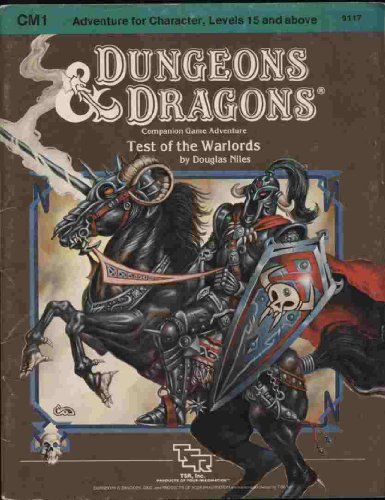 Test of the Warlords (Dungeons & Dragons Module CM1): Niles, Douglas