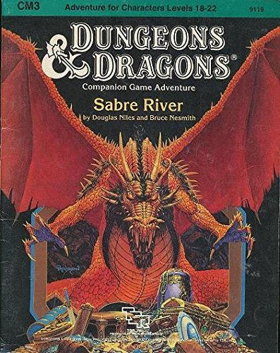 9780880381185: Sabre River (Dungeons & Dragons, CM3)