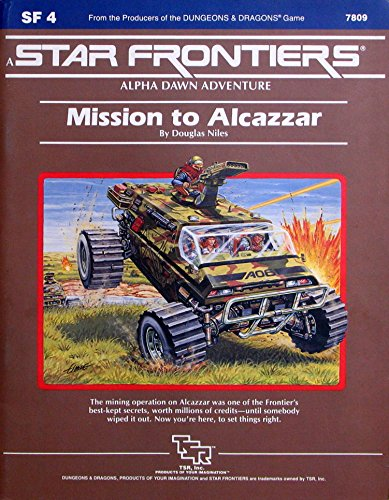 9780880381468: Mission to Alcazzar (Star Frontiers Module SF4)