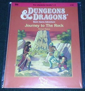 9780880381581: Journey to the Rock (Dungeons & Dragons Module B8)