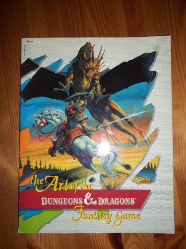 The Art of the Dungeons and Dragons Fantasy Game