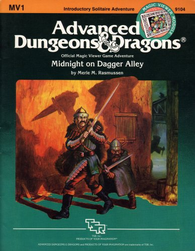 9780880381857: Midnight on Dagger Alley (Advanced Dungeons and Dragons Module MV1)