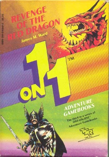 9780880381864: Revenge of the Red Dragon (PICK A PATH TO ADVENTURE)