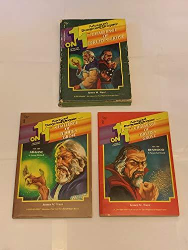 Challenge of Druid's Grove (One on One Adventure Gamebooks): James Ward