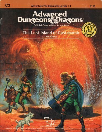 Lost Island of Castanamir, The (Advanced Dungeons & Dragons (1st Edition) - Modules & ...