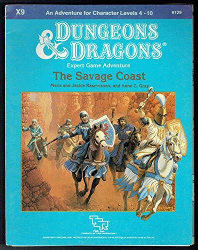 9780880381970: The Savage Coast (Dungeons & Dragons Module X9)