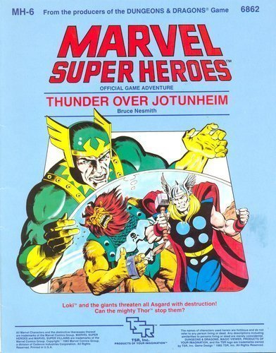 9780880381987: Thunder over Jotunheim (Marvel Super Heroes module MH6)
