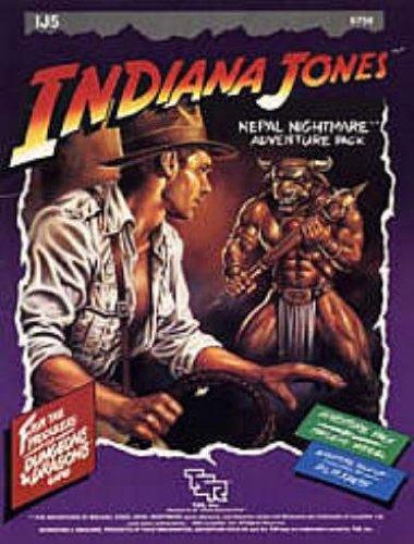 9780880382021: Indiana Jones Nepal Nightmare Adventure Pack (IJ5, TSR 6756)